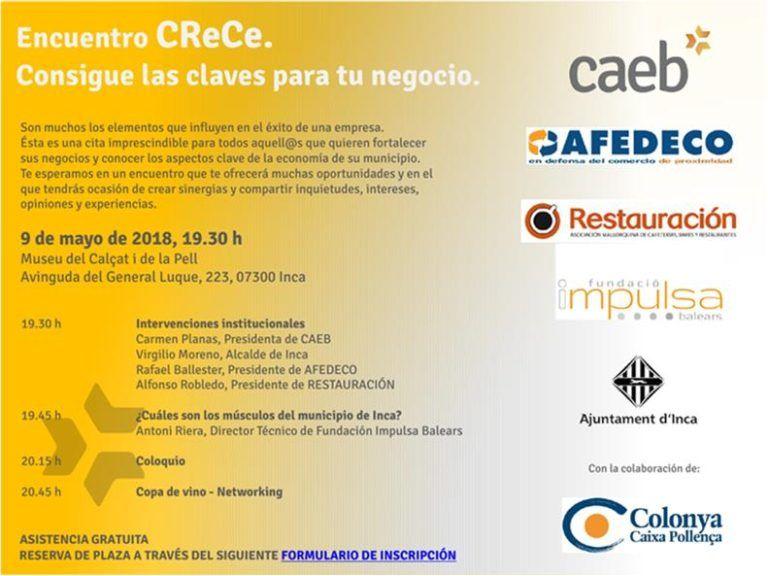 """Si eres empresario de Restauración en Marratxi, estas invitado al acto de presentación """"CReCe"""""""