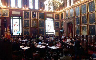 Negociaciones con el ayuntamiento de Palma