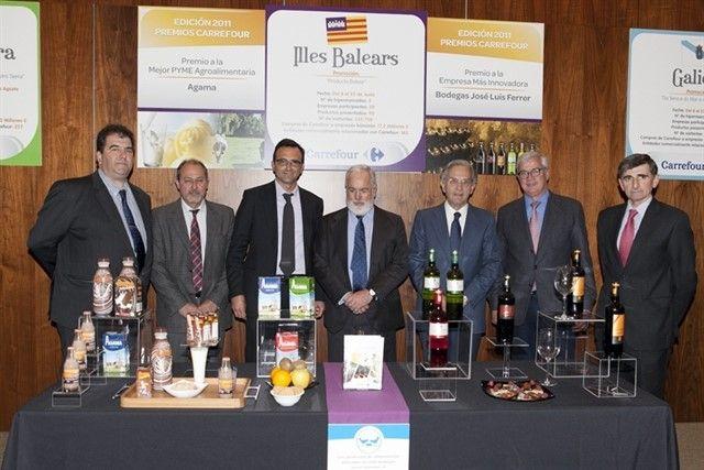 Carrefour entrega a Bodegas José Luis Ferrer el premio a la Empresa más Innovadora